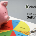 Kakeibo allows you to set up expense items that fit your life